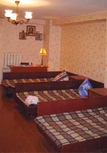 Комната. Гостиница для паломников при храме Архангела Михаила